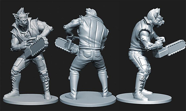 Bebop figure, TIMNT: Shadows of the Past