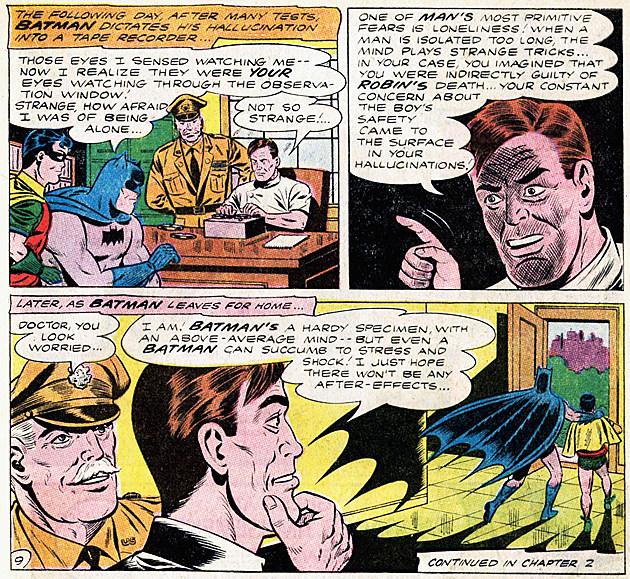 """Robin Dies at Dawn,"" Bill Finger and Sheldon Moldoff"