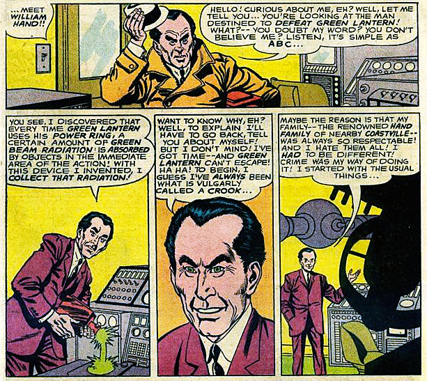 William Hand, by John Broome and Gil Kane