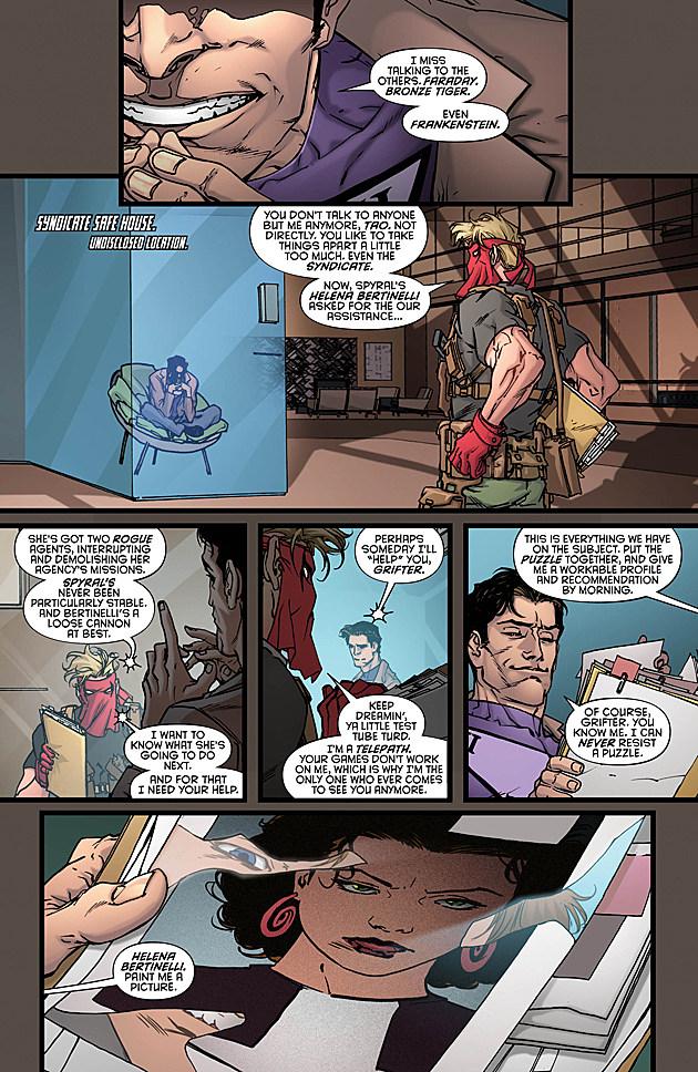 Grayson #17, DC Comics