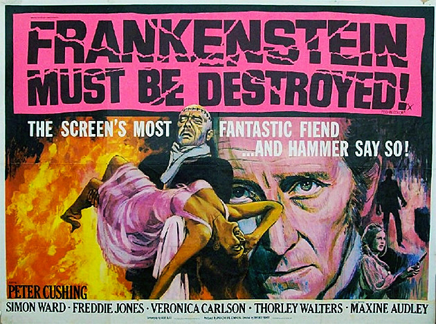 Frankenstein Must Be Destroyed by Hammer Films