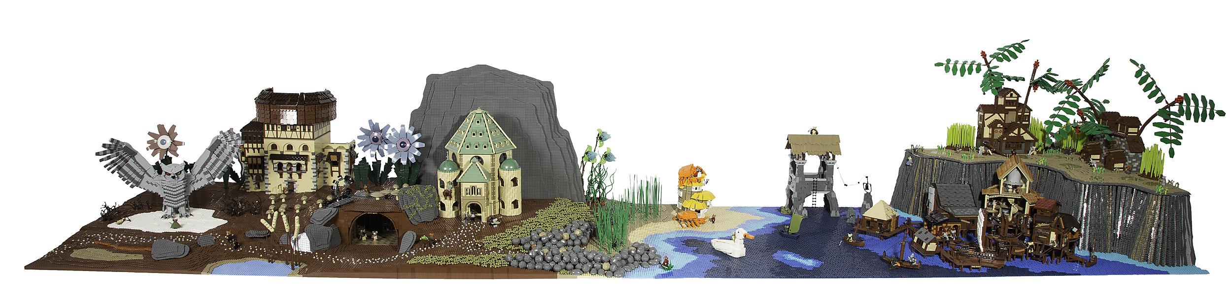 Mouse Guard_Art of Bricks_Sample Image 1