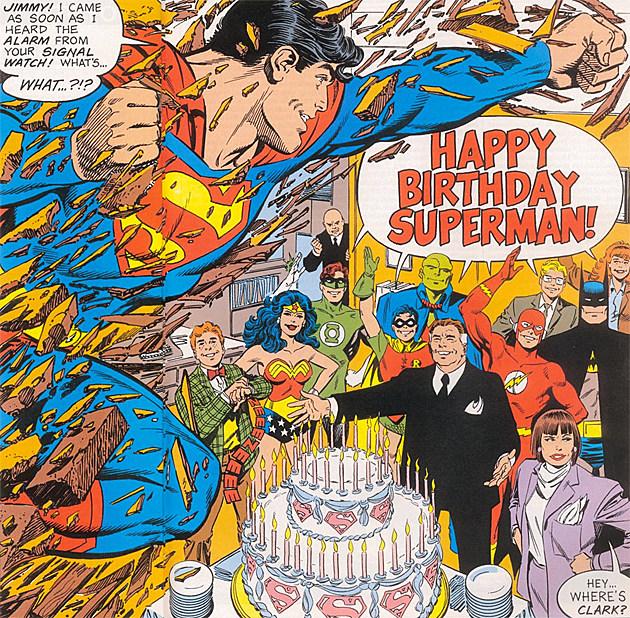 Free Comic Book Day History: Happy Birthday, Superman