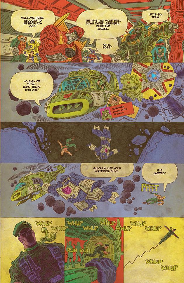 Transformers vs. GI Joe #11
