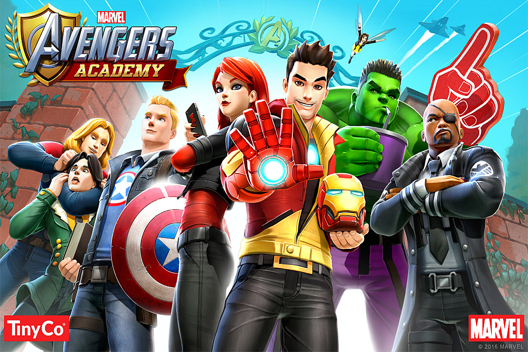 Marvel Avengers Academy' Has Great Design And Story, But A ...