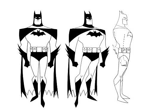 New Batman Adventures. Bruce Timm & Glen Murakami