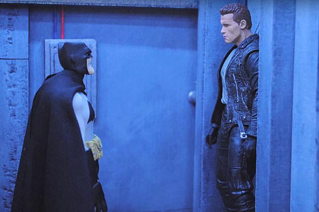 Batman vs. Terminator, by Captain McKay
