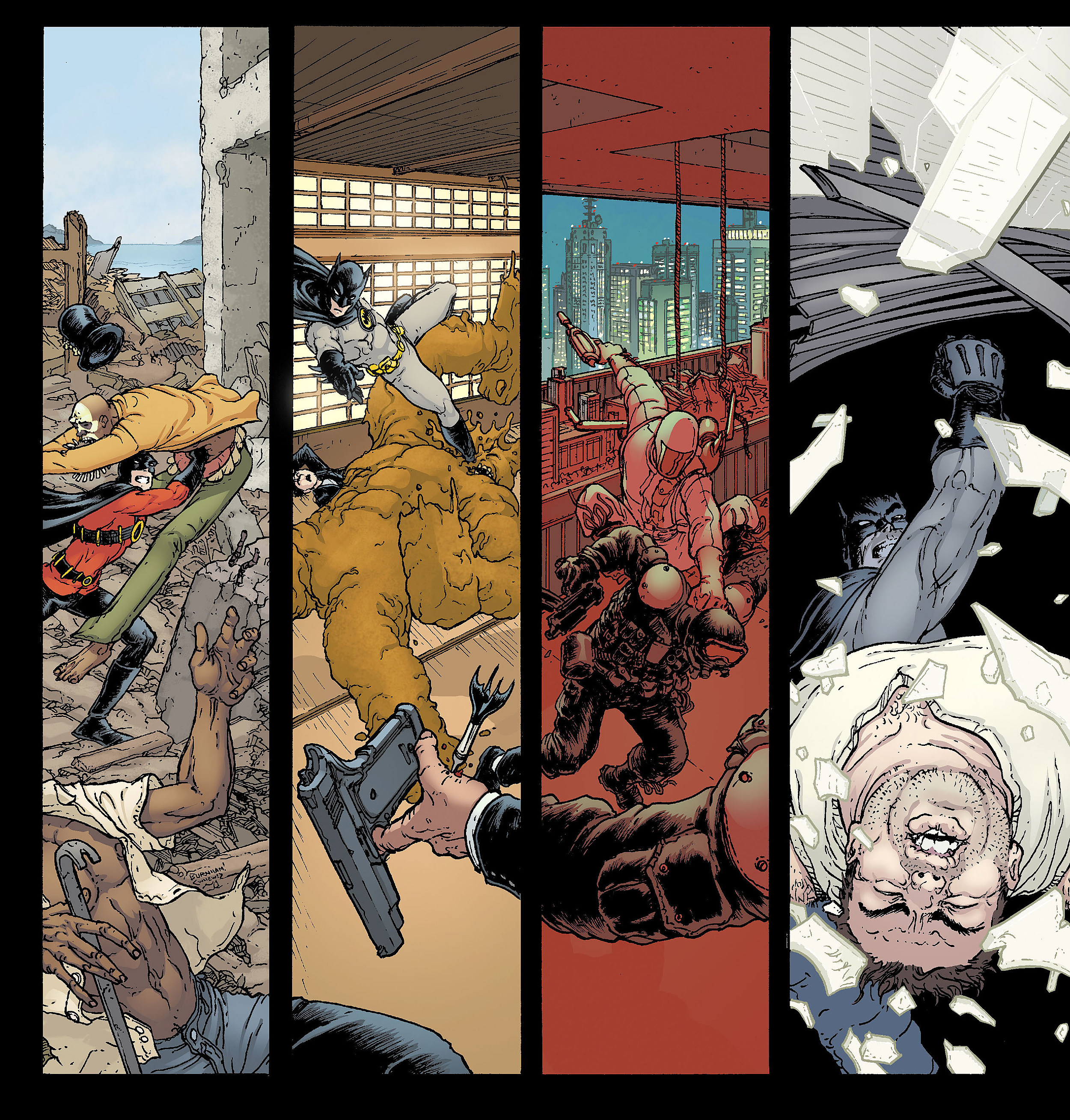 The art of color book - Batman Inc Right Side