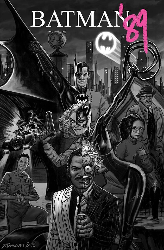 Batman 89 art by Joe Quinones