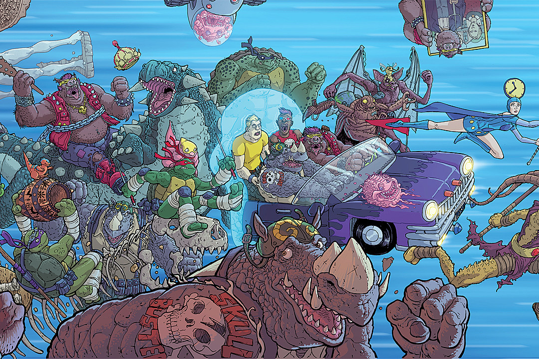 Bebop And Rocksteady Are Going To Destroy Everything This June