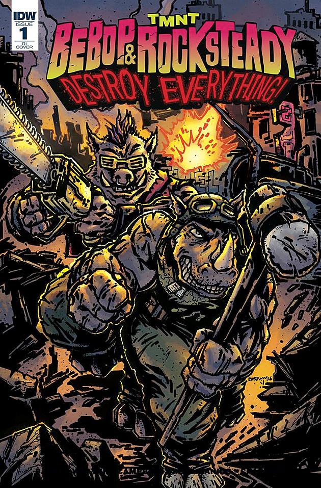 Bebop & Rocksteady Destroy Everything, IDW