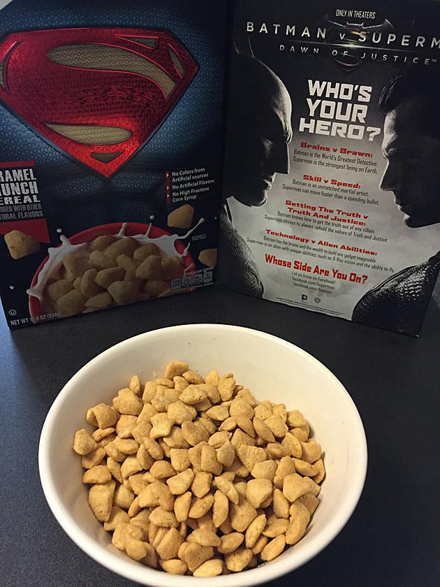 Batman v Superman Cereals