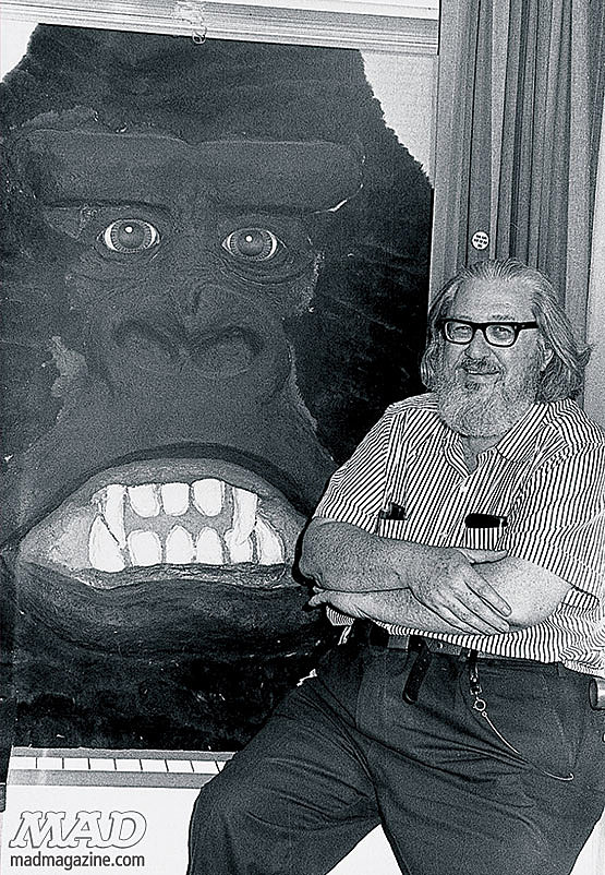 """William M. """"Bill"""" Gaines and King Kong"""