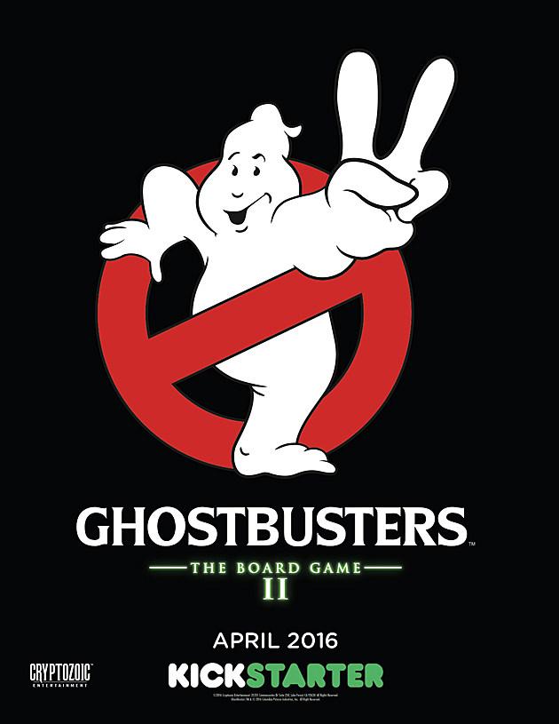 Ghostbusters II Board Game teaser