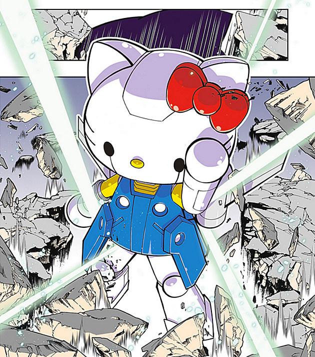 Reddit Online Manga Reader: Hello Kitty Fights Monsters With A Giant Robot In New Webcomic