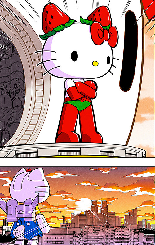 Hello Kitty manga by Toshiki Inoue and Shakua Sinkai