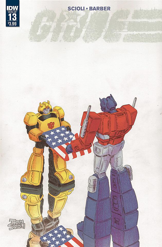 Transformers vs. GI Joe #13