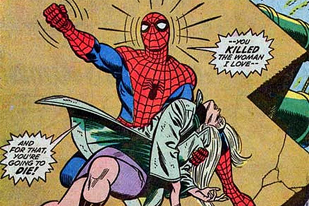 Image result for The Night Gwen Stacy Died