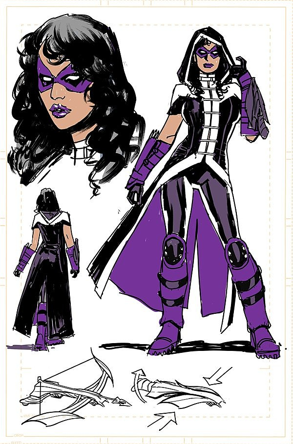 First thereu0027s Huntress. And to be clear we donu0027t know 100% for certain yet who this Huntress is. Sheu0027s probably Helena Bertinelli but the post-Flashpoint ...  sc 1 st  ComicsAlliance & Threads of Prey: A Look at the New Huntress and Black Canary Designs