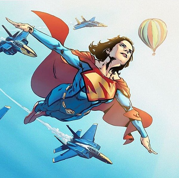 Superwoman. Art by Phil Jimenez.
