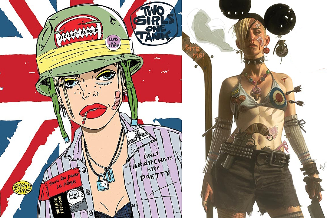 Martin and Parson Revive Tank Girl in 'Two Girls One Tank'
