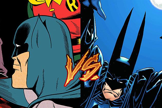 Batman ears by Dick Sprang and Kelley Jones