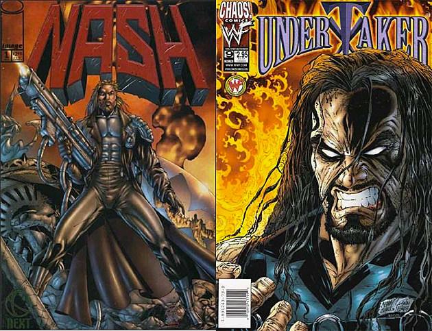 Nash and Undertaker comics, circa the '90s