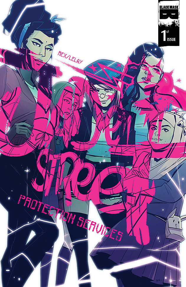 Jade Street Protection Services #1 cover by AnnieWu
