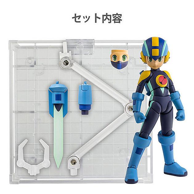 Mega Man action figures by Sentinel