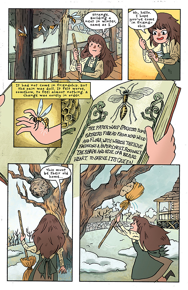 heading over the garden wall with jim campbell interview - Over The Garden Wall Comic