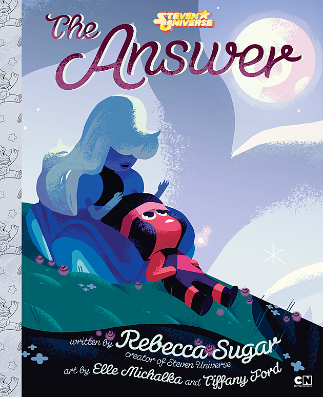 Illustrated Book Cover Generator : Steven universe episode to be adapted as children s book