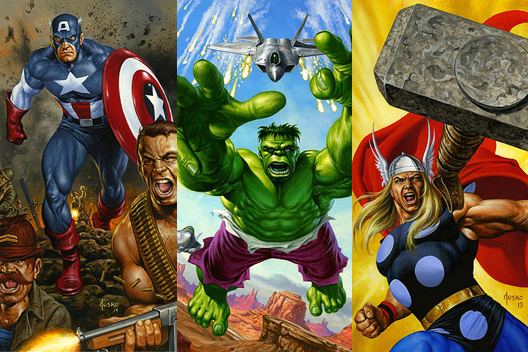 Joe Jusko Returns To Paint A New Set Of Marvel Masterpieces
