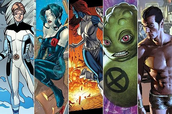 100 X-Men: Rating Iceman Jr., Sage, Mystique, Doop And Namor