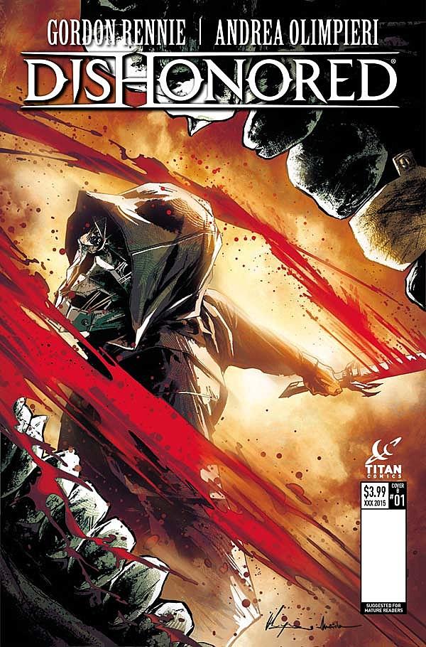 Dishonored: The Corroded Man, TItan Comics