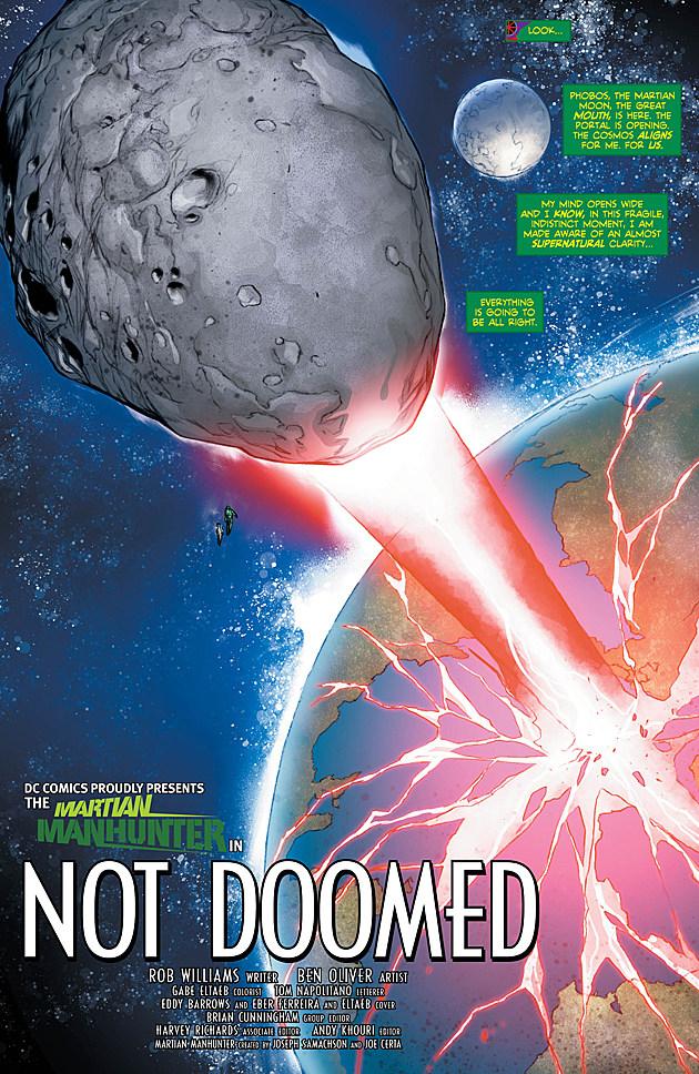 Martian Manhunter #12, DC Comics