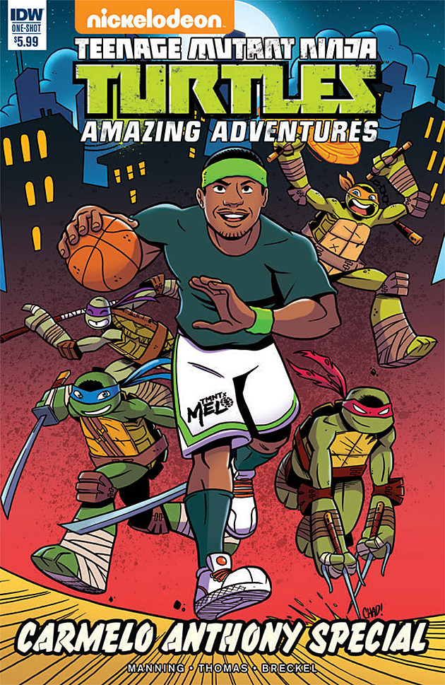 Teenage Mutant Ninja Turtles: Carmelo Anthony Special