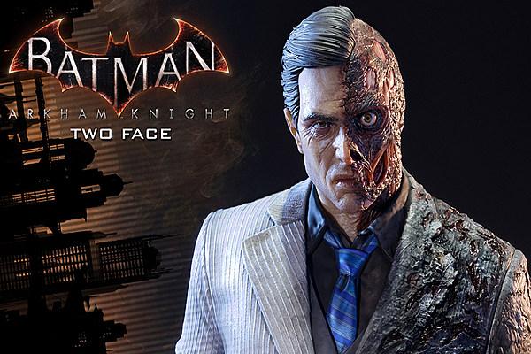 Prime Studio Batman Arkham Knight Two Face Statue on Dc Universe Killer Croc Toys