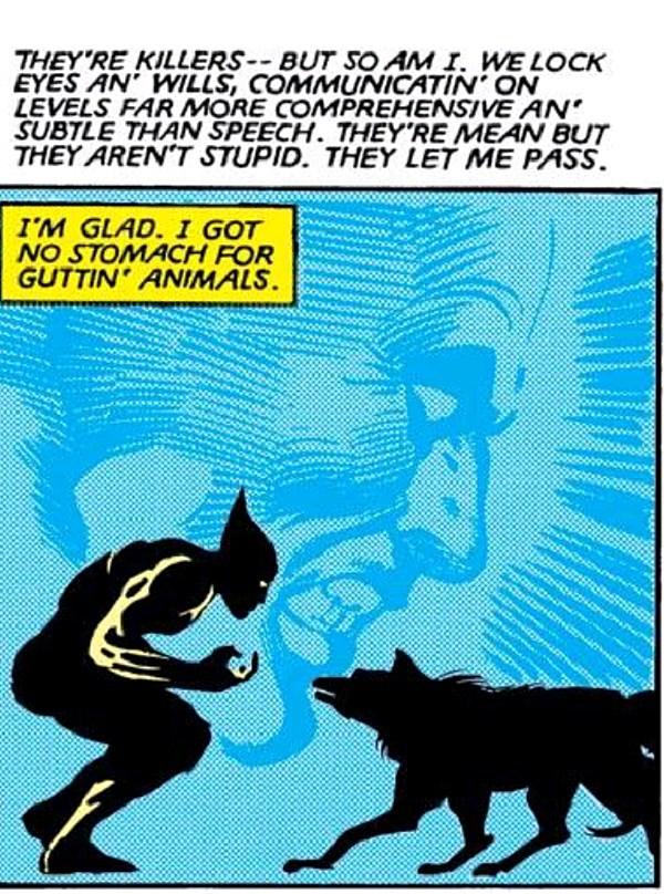 From Wolverine (1982) #1. Claremont/Miller/Wein/Marvel.