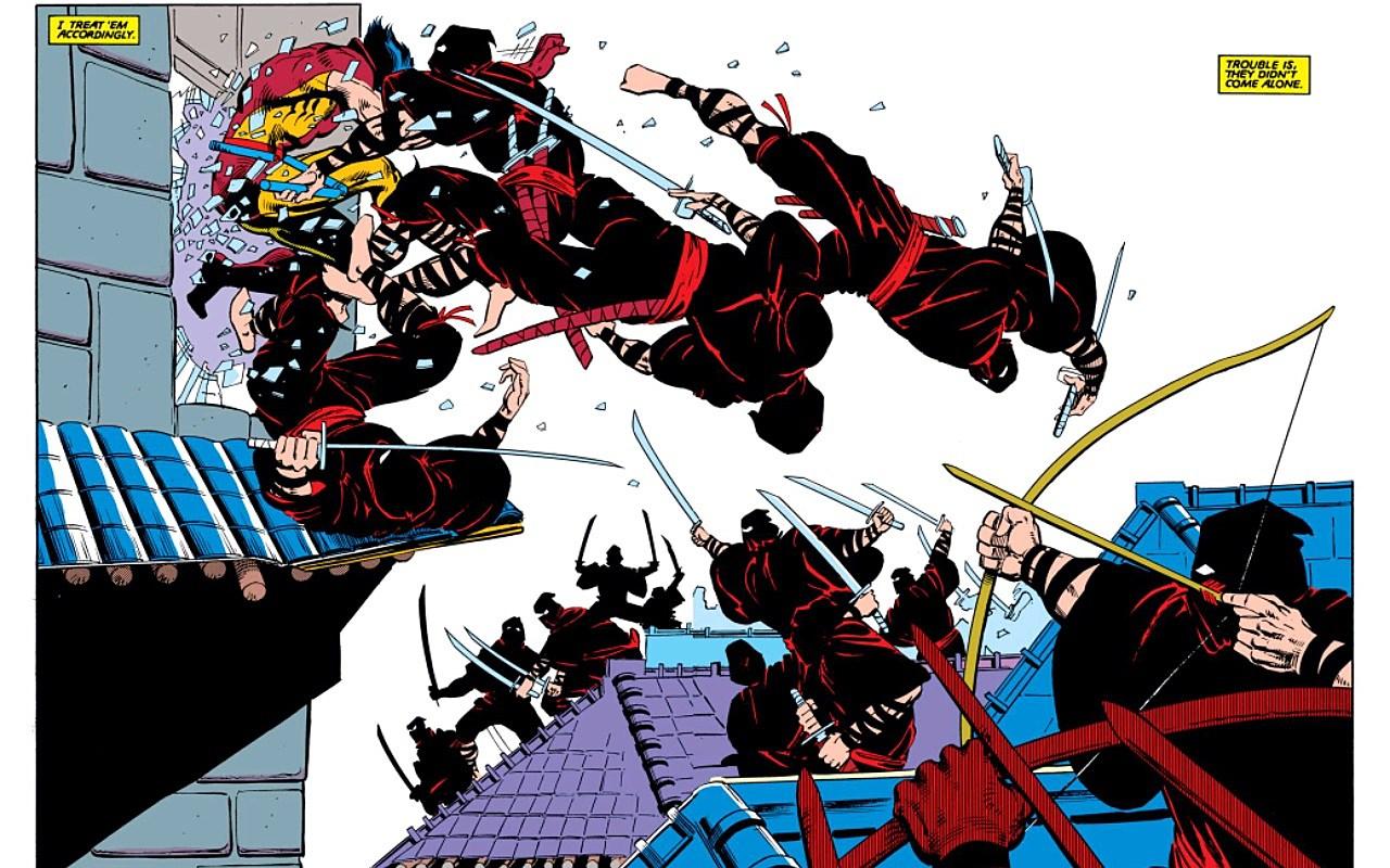 From Wolverine (1982) #2. Claremont/Miller/Wein/Marvel.