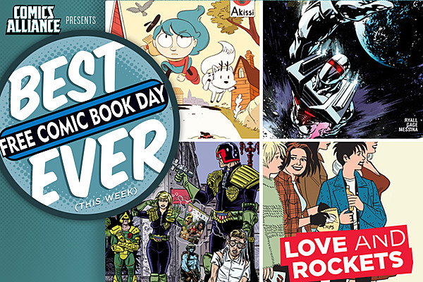 Best Comic Books Ever: Free Comic Book Day 2016 Edition