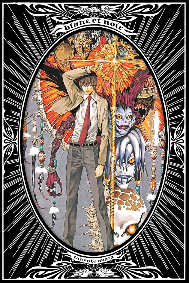 step van - Takeshi Obata Offers Sweeping Gothic Beauty In 'Blanc et Noir'