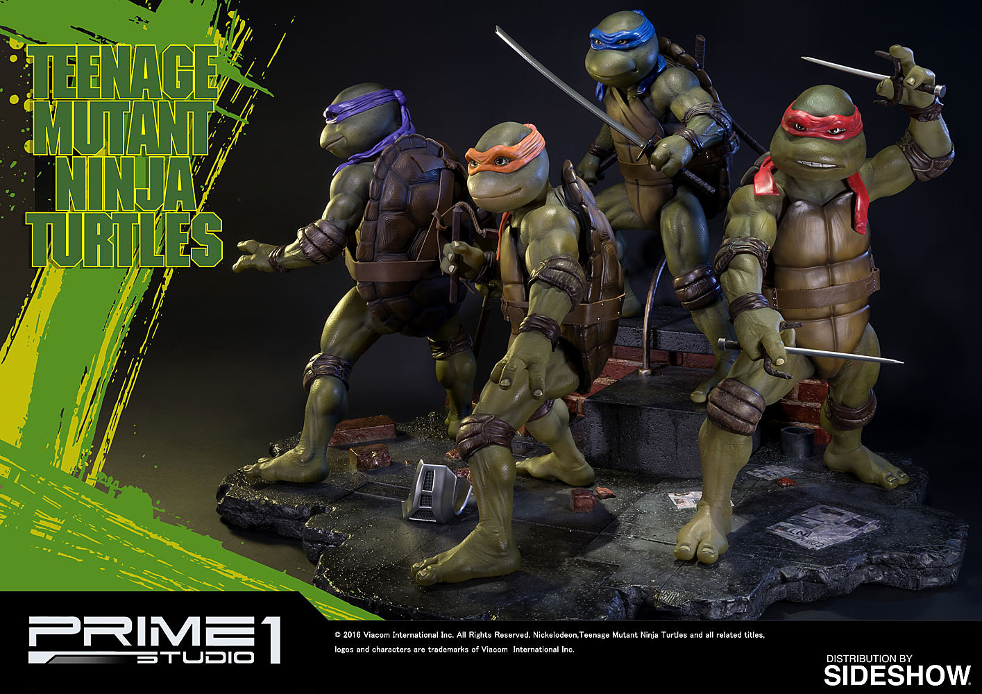 Teenage Mutant Ninja Turtles Toys 1 : Prime s teenage mutant ninja turtles will cost you a