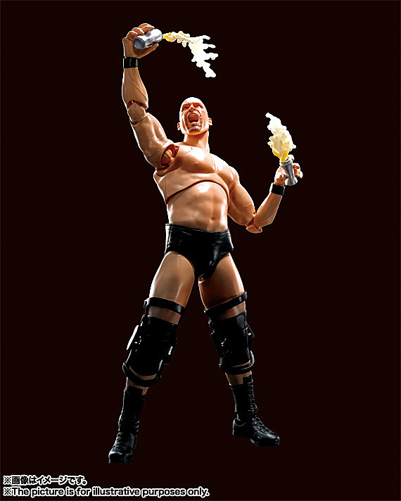 SH Figuarts Stone Cold Steve Austin and The Rock