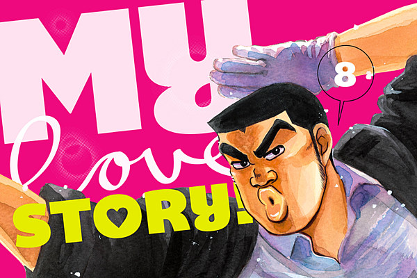 Kawahara And Aruko's 'My Love Story!!' To End In July