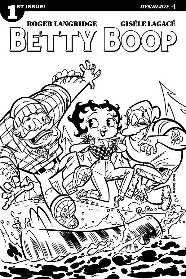 Betty Boop #1, Dynamite Entertainment