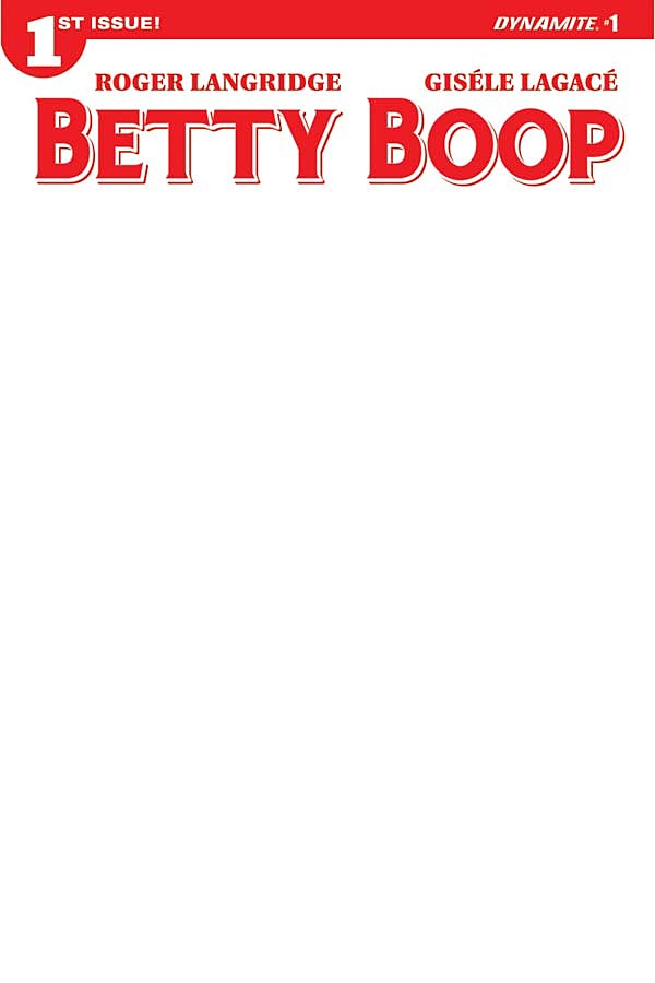 Betty Boop #1, Dynamite Entertainment