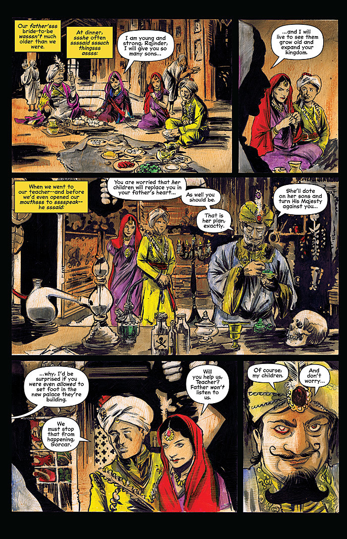 Salem Sorcerously Speaks To Snakes In Sabrina 6 Preview