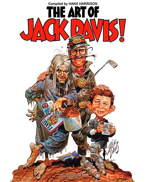 The Art of Jack Davis, featuring a self-portrait