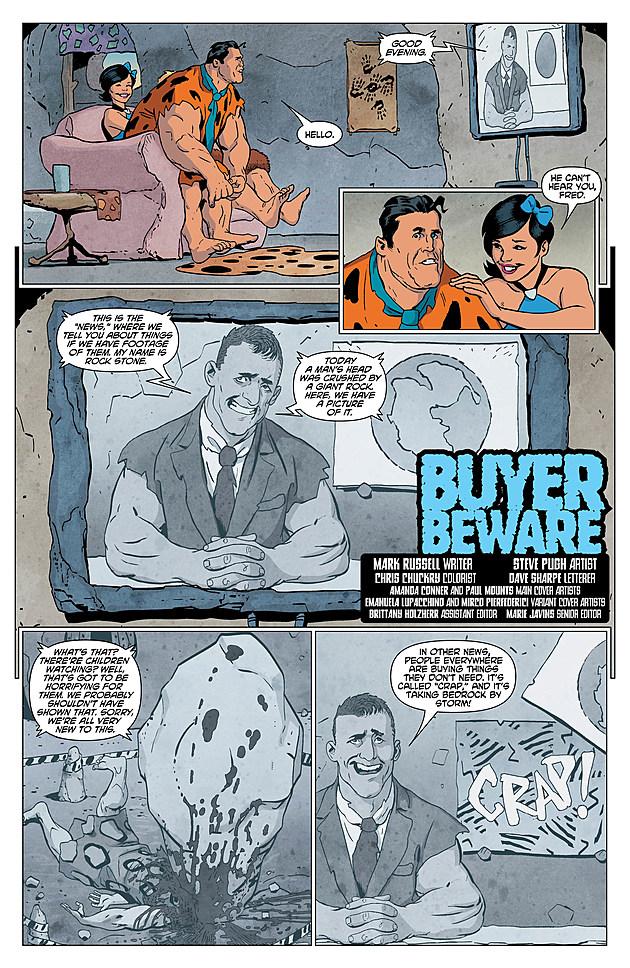 Flintstones #2, DC Comics