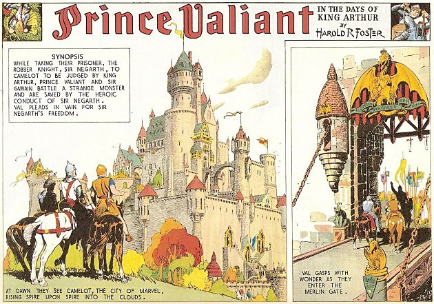 True answer comic image prince strip valiant something is